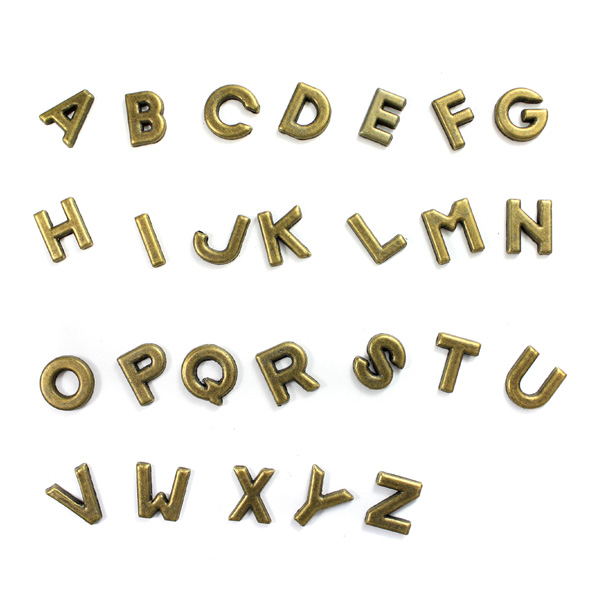アクセサリーパーツ アルファベット